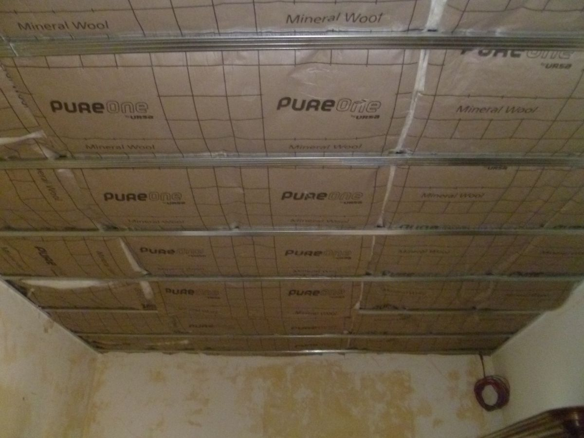 Comment isoler un plafond par l 39 int rieur artisan plaquiste verbe j - Comment isoler un container ...