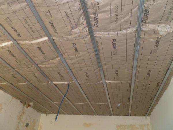 Comment isoler un plafond par l 39 int rieur artisan plaquiste verbe jerome - Isolation thermique plafond par l interieur ...